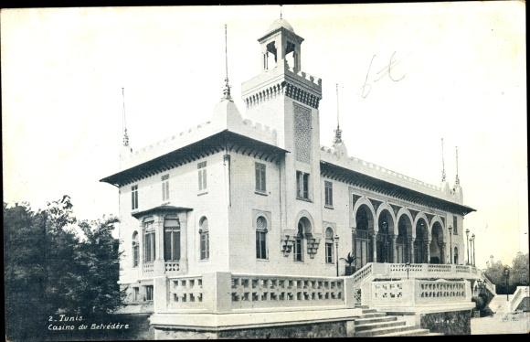 Ak Tunis Tunesien, Casino de Belvédère