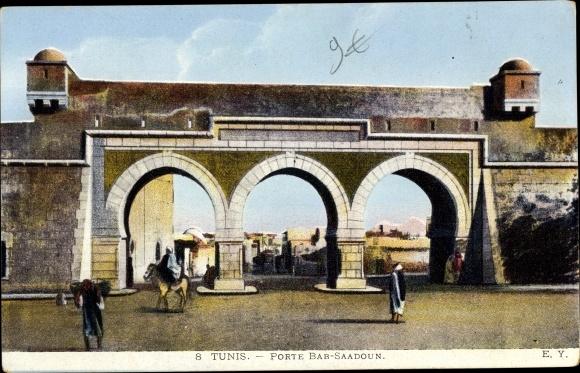 Ak Tunis Tunesien, Porte Bab Saadoun