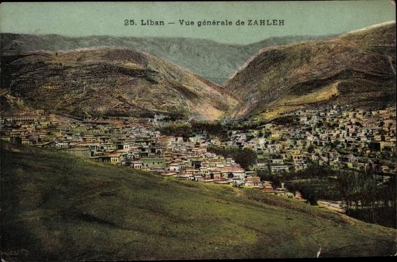 Ak Zahleh Liban, Vue générale