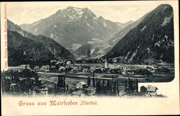 Ak Mayrhofen in Tirol, Panorama