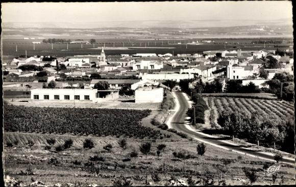 Ak Saint Cloud Algerien, Vue générale