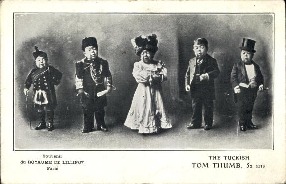 Ak Paris, Royaume de Lilliput, The tuckish Tom Thumb