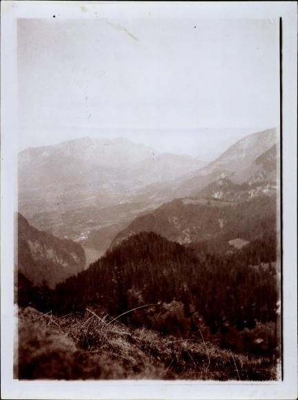 Foto Berchtesgaden in Oberbayern, Panorama von der Gotzenalm