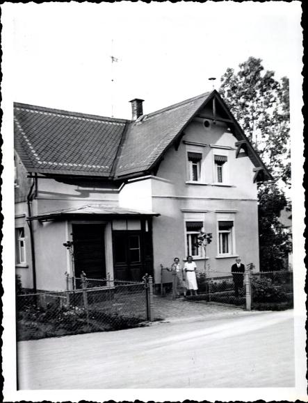 Foto Ebersbach Glauchau in Sachsen, Haus Vinzenz Schreiber