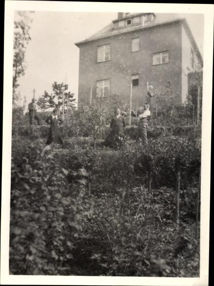 Foto Markneukirchen im Vogtland Sachsen, Wohnhaus mit Garten