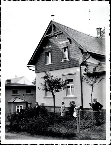 Foto Ebersbach Glauchau in Sachsen, Wohnhaus Vinzenz Schreiber