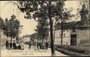 Ak Le Bourget Seine-Saint-Denis, Rue du Commandant Baroche, La Ferme Nolle