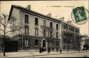 Ak Le Bourget Seine-Saint-Denis, La Gendarmerie
