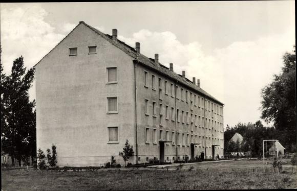 Ak Niepars in Mecklenburg Vorpommern, Ortspartie