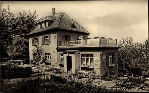 Ak Hartha Hintergersdorf Tharandt im Erzgebirge, Café Daheim