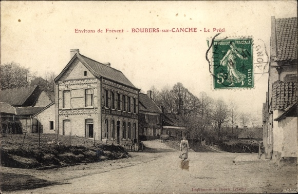 Ak Boubers sur Canche Pas de Calais, Le Préel