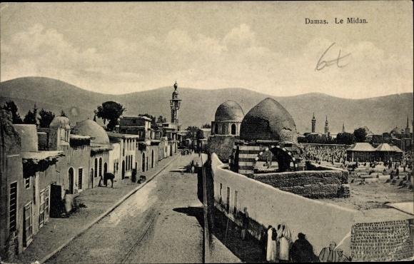 Ak Damaskus Syrien, Le Midan