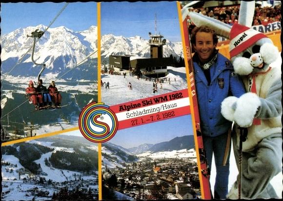 Ak Schladming Steiermark, Alpine Ski WM 1982