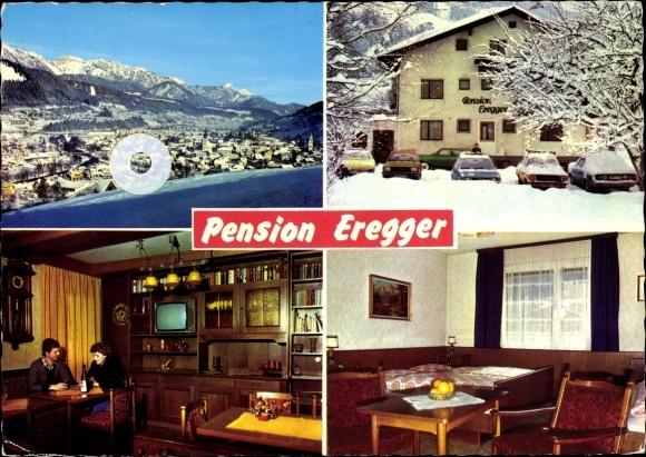 Ak Schladming Steiermark, Frühstückspension Eregger