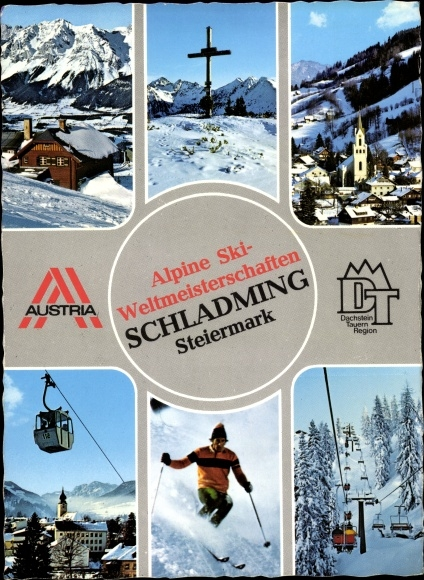 Ak Schladming Steiermark, Alpine Ski-Weltmeisterschaften