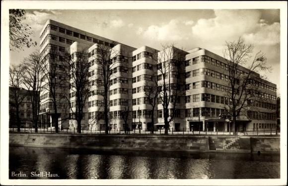 Ak Berlin Tiergarten, Shell Haus