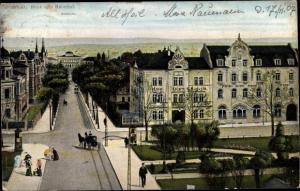 Ak Weimar in Thüringen, Hotel Kaiserin Augusta, Museum