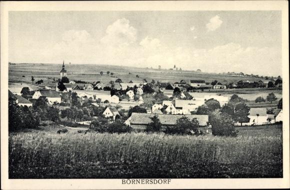 Ak Börnersdorf Bad Gottleuba Berggießhübel, Panorama