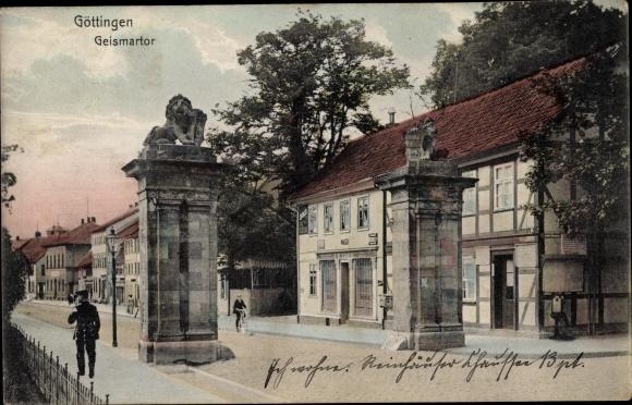 Ak Göttingen in Niedersachsen, Geismartor
