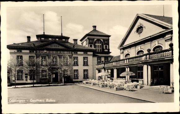 Ak Göttingen, Gasthaus Rohns