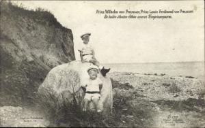Ak Prinz Wilhelm von Preußen, Prinz Louis Ferdinand von Preußen