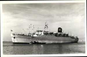 Ak Paquebot Lyautey, Compagnie de Navigation Paquet, CNP