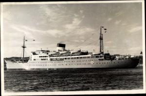Foto Ak Paquebot Foch, Compagnie de Navigation Fraissinet