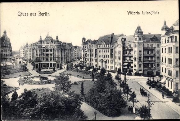 Ak Berlin Schöneberg, Viktoria Luise Platz 0