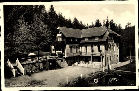 Ak Bärenburg Altenberg im Erzgebirge, Hotel Schäfermühle 0