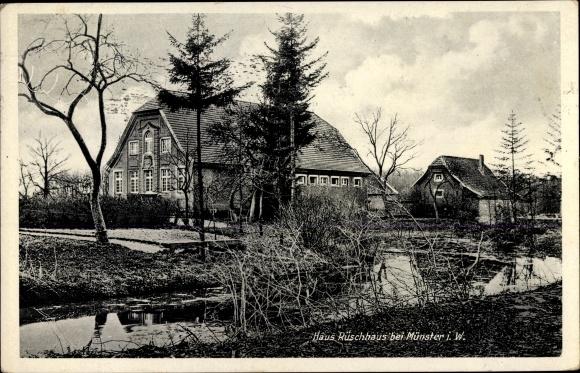Ak Münster in Westfalen, Haus Rüschhaus 0