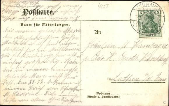 Ak Grefrath in Nordrhein Westfalen, Pensionat Unserer lieben Frau 1