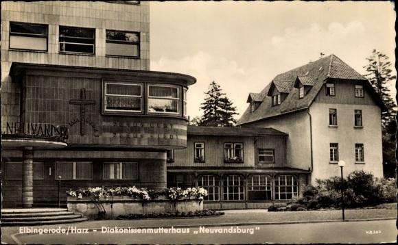 Ak Elbingerode Oberharz am Brocken, Diakonissenmutterhaus Neuvandsburg 0