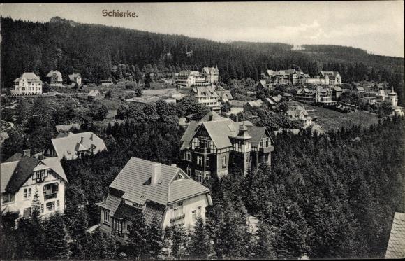 Ak Schierke Wernigerode am Harz, Gesamtansicht 0