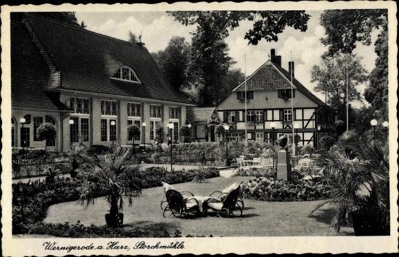 Ak Wernigerode am Harz, Storchmühle 0