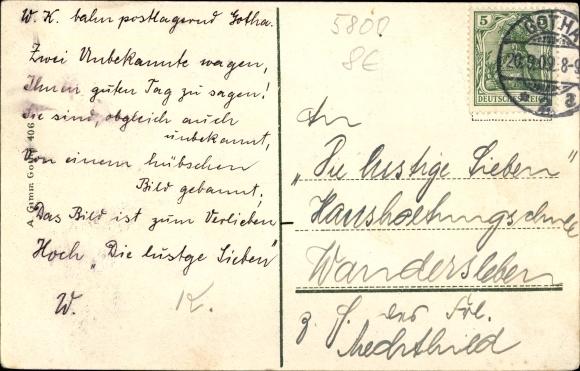 Ak Gotha im Thüringer Becken, Arnoldiplatz 1