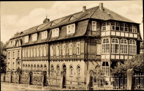 Ak Heilbad Heiligenstadt Eichsfeld Thüringen, Altersheim Hospital Hl. Geist 0