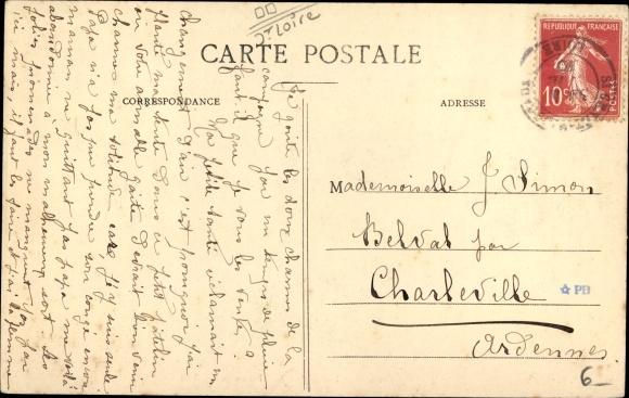 Ak St. Genest Malifaux Loire, Ferme de Gaillard 1