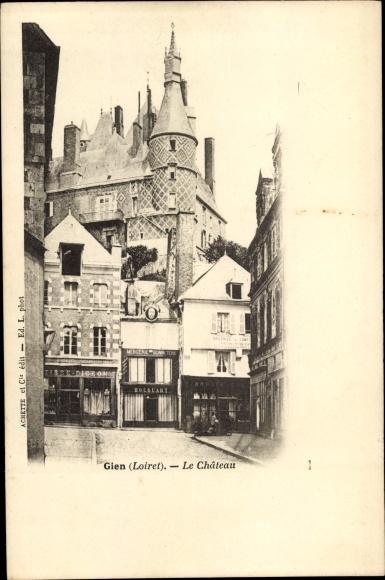 Ak Gien Loiret, Le Château 0