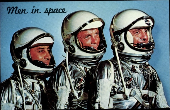 Ak Men in Space, A trip into outer Space, Astronauten, NASA