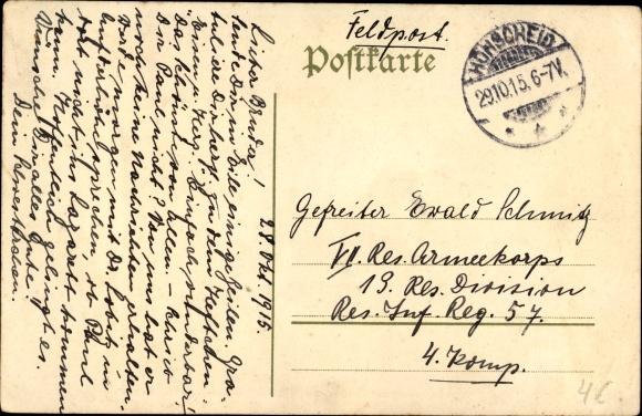 Künstler Ak Roeseler, A., Rote Kreuz Sammlung 1914, Freiwillige Krankenpflege 1