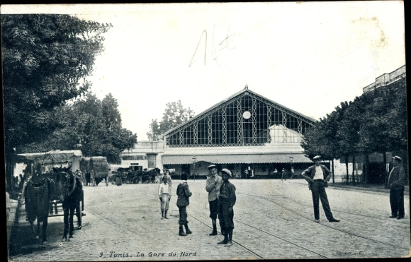 Ak Tunis Tunesien, La Gare du Nord