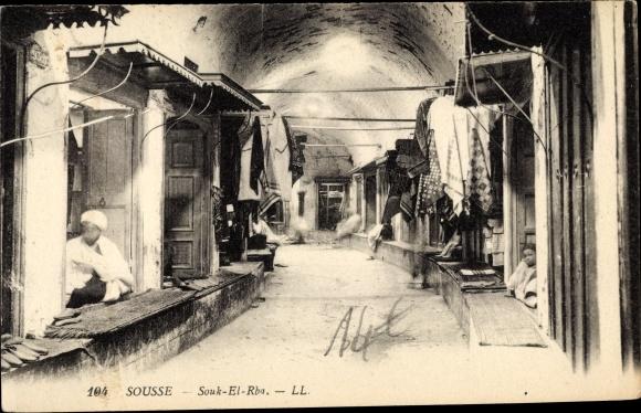 Ak Sousse Tunesien, Souk el Rha