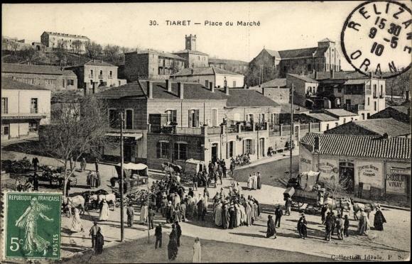 Ak Tiaret Algerien, Place du Marché