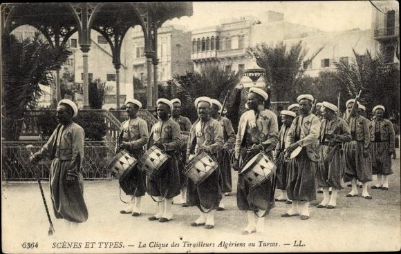 Ak Algerien, La Clique des Tirailleurs Algériens ou Turcos
