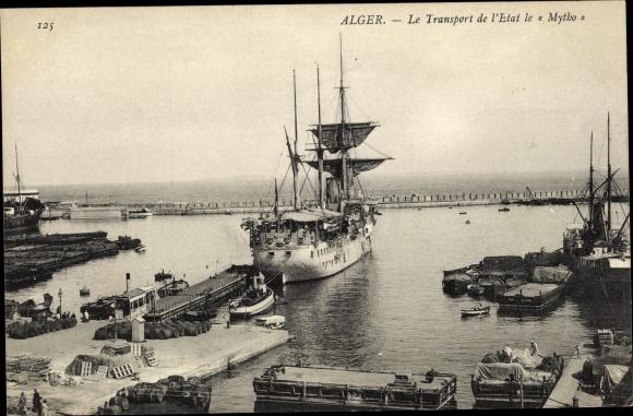 Ak Algier Alger Algerien, Le Transport de l'Etat le Mytho