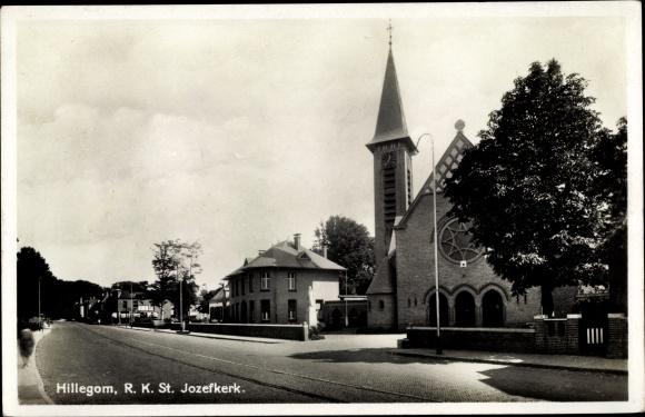 Ak Hillegom Südholland Niederlande, RK St. Jozefkerk