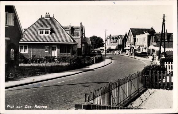 Ak Wijk aan Zee Beverwijk Nordholland, Relweg