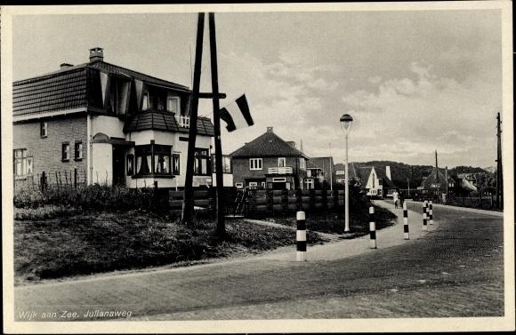 Ak Wijk aan Zee Beverwijk Nordholland, Julianaweg