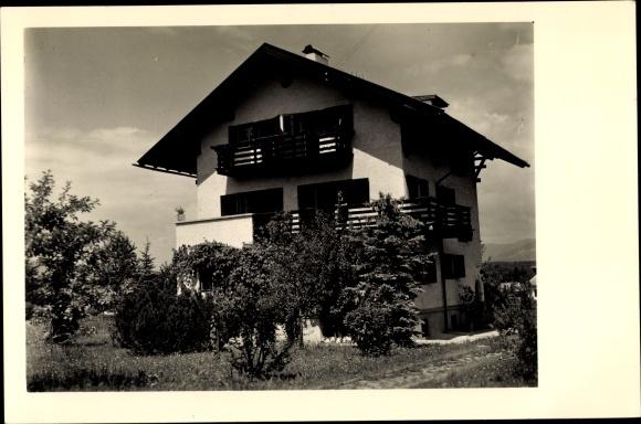 Foto Ak Faak am See Kärnten, Villa Kirchlechner