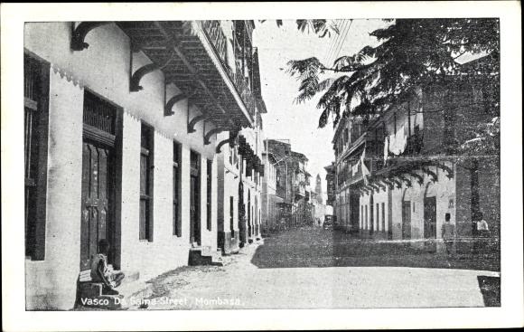 Ak Mombasa Kenia, Vasco Da Gama Street